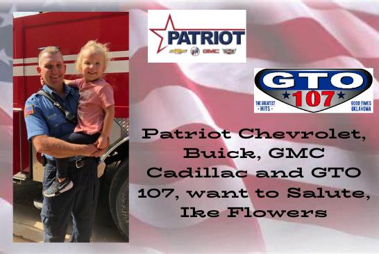 Patriot Auto Group & GTO 107 Patriot Salute!