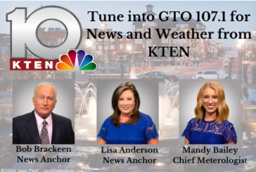 KTEN News and Weather on GTO 107