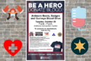 Ardmore Boots, Badges and Gurneys Blood Drive